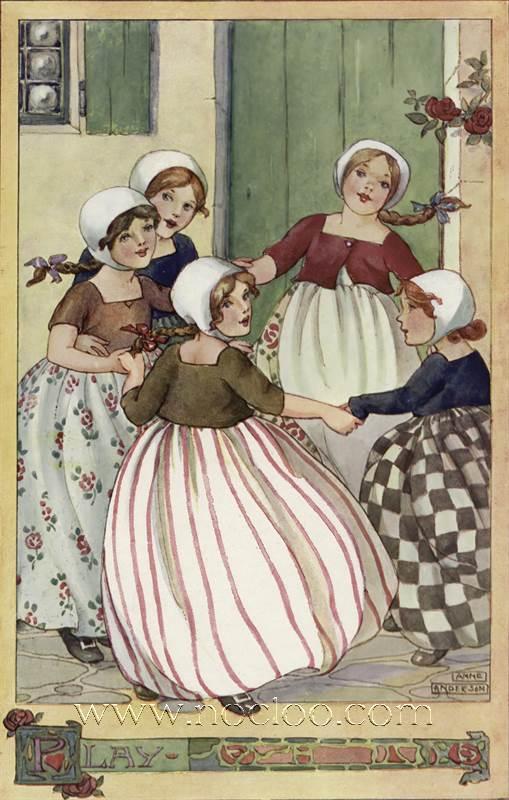 Anne Anderson The Rosie Posie Book 1911