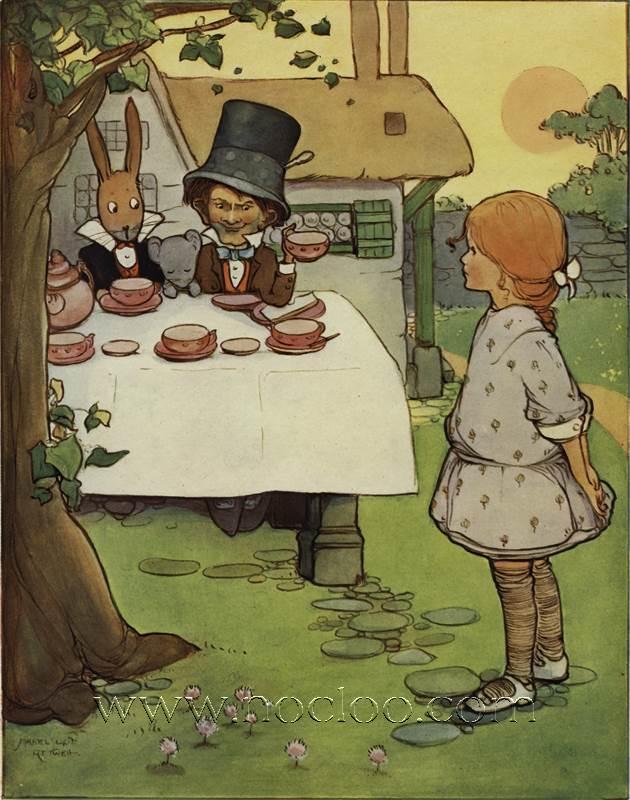Mabel Lucie Attwell Alice S Adventures In Wonderland 1910