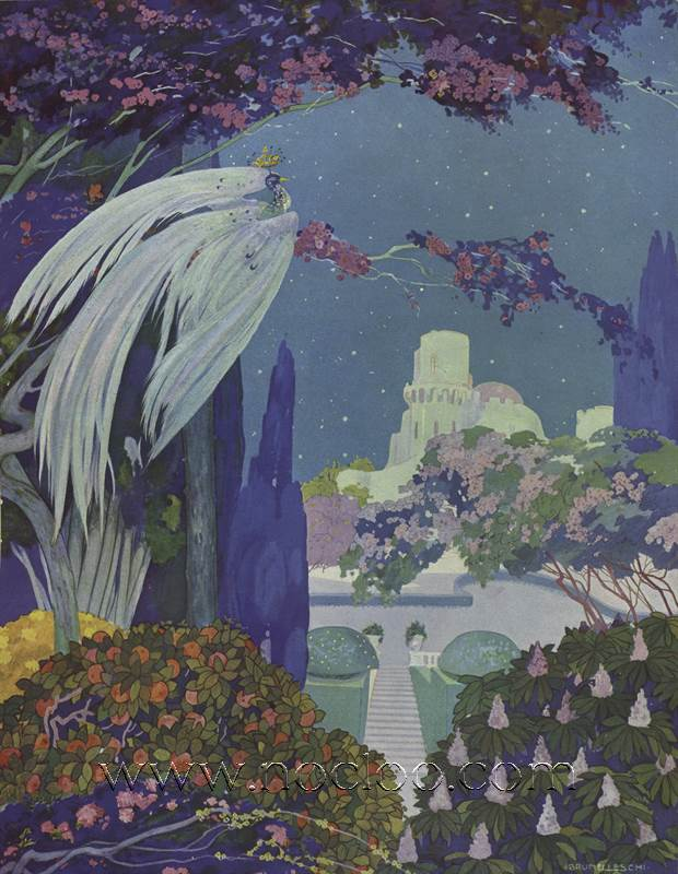 Umberto Brunelleschi Contes Du Temps Jadis 1912