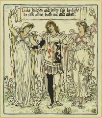 Walter Crane - Queen Summer