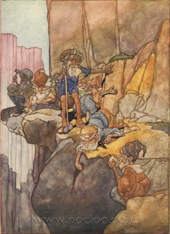 Charles Robinson The Big Book Of Fairy Tales 1911