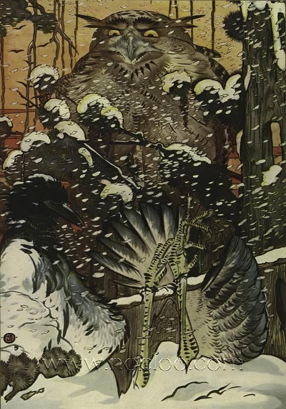 Edward Julius Detmold The Fables Of Aesop 1909