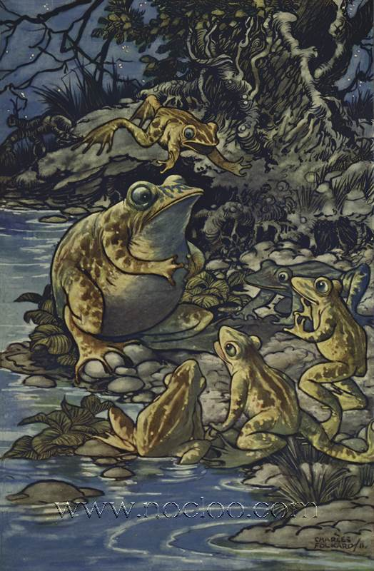 Charles Folkard Aesop S Fables 1912