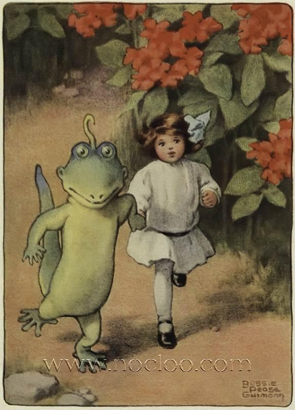 Bessie Pease Gutmann Alice S Adventures In Wonderland