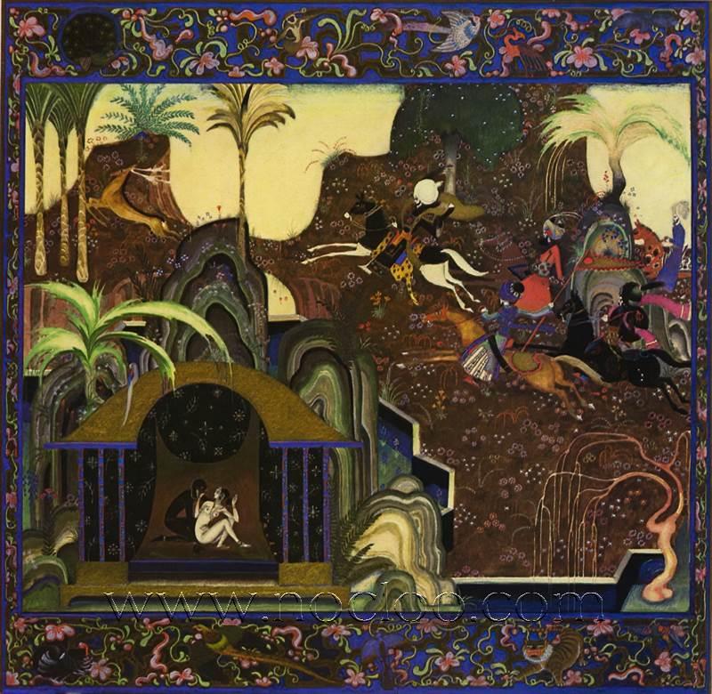 Kay Nielsen Arabian Nights