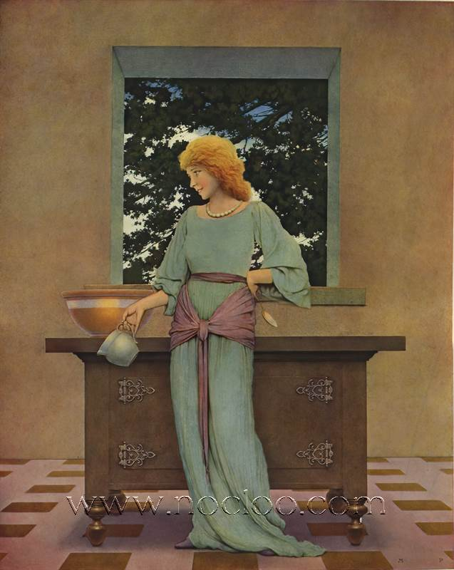 Maxfield Parrish Knave Of Hearts 1925