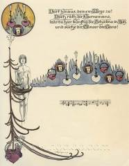 Willy Pogany - Parsifal Music Sheet