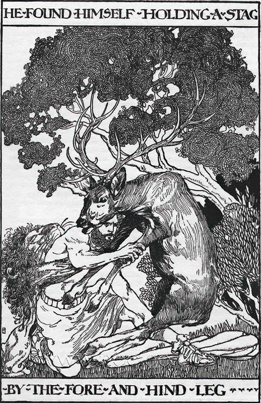 Willy Pogany Tanglewood Tales 1909
