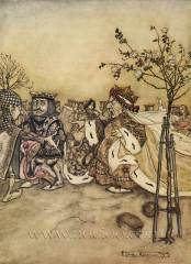 Arthur Rackham - Alice's Adventures in Wonderland