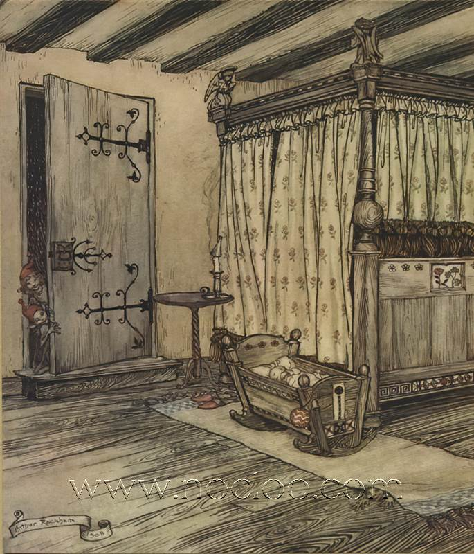 Arthur Rackham Midsummer S Night Dream 1908