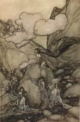 Arthur Rackham - Rip Van Winkle