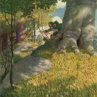 N.C. Wyeth - Robin Hood