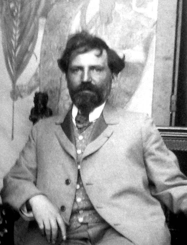 Alfons Mucha In Studio (c. 1899) 800px
