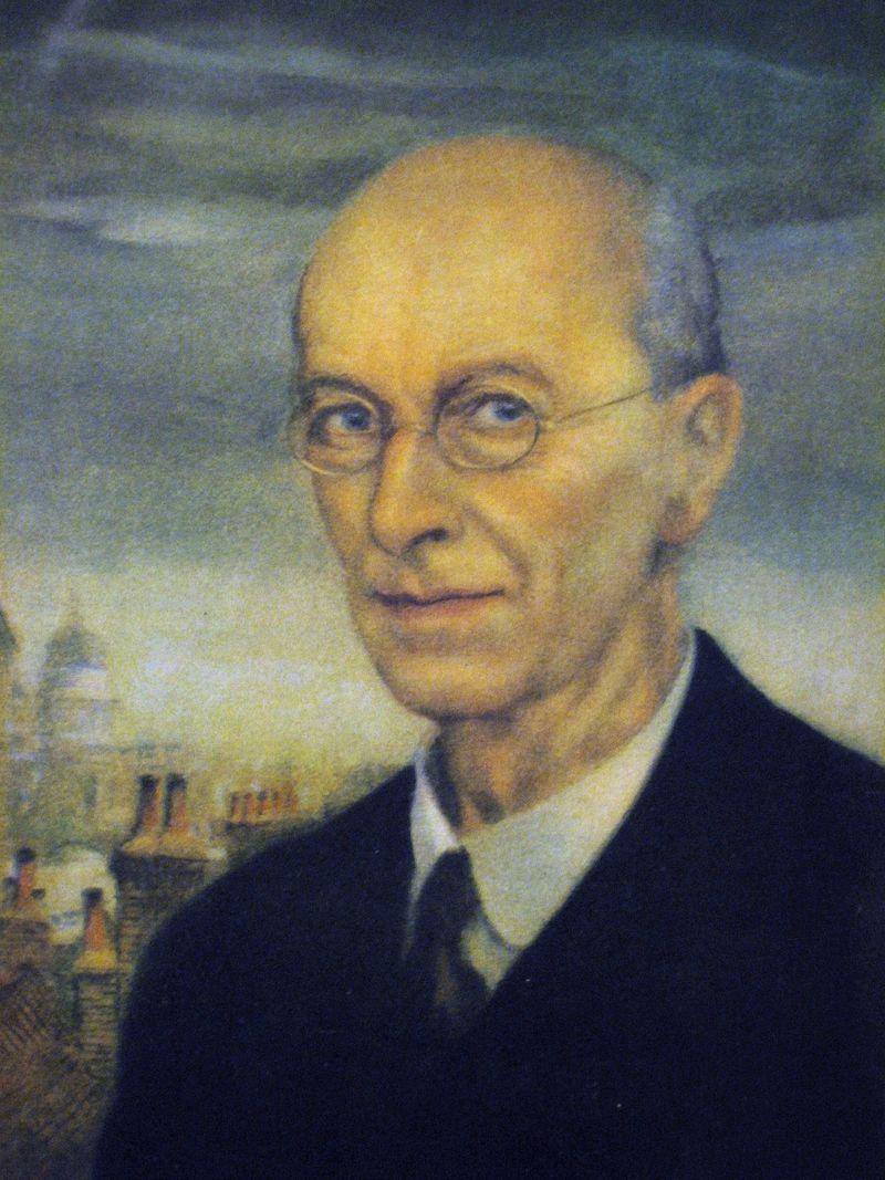 Arthur Rackham Self-portrait