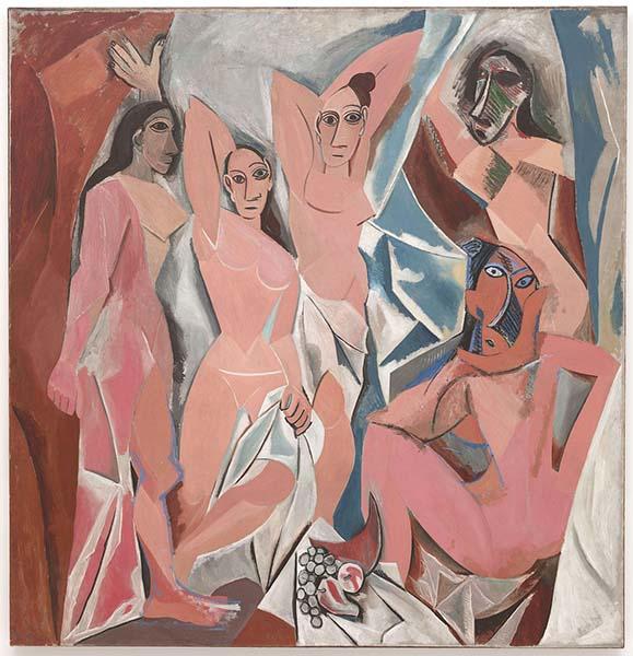 Les Demoiselles d'Avignon, Picasso1907