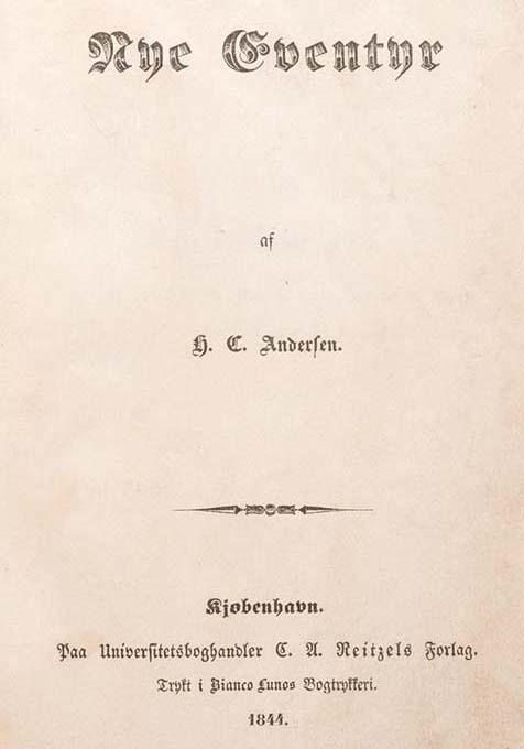 Nye Eventyr Hans Andersen