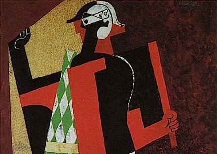 Pablo Picasso, 1917, Arlequin (Harlequin)