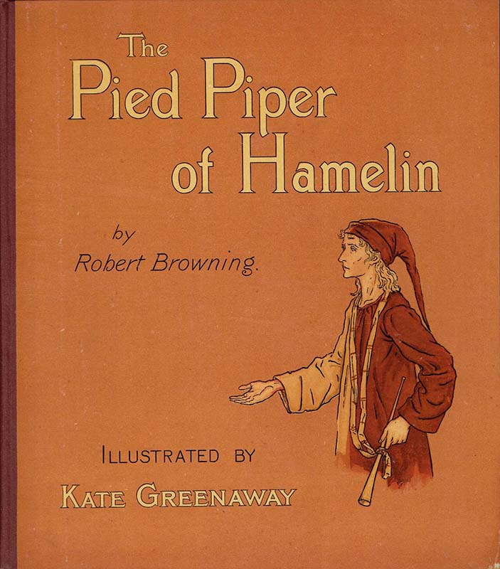 Pied Piper Hamerlin Kate Greenaway