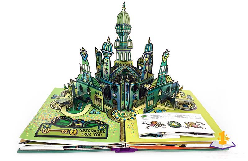 The Wonderful Wiard of Oz, Robert Sabuda. First edition, 2000.