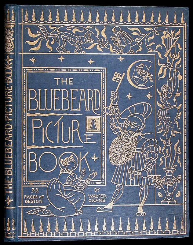 Blue Beard - Walter Crane