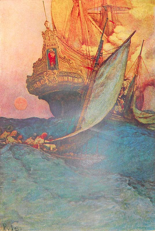 Book Pirates - Howard Pyle
