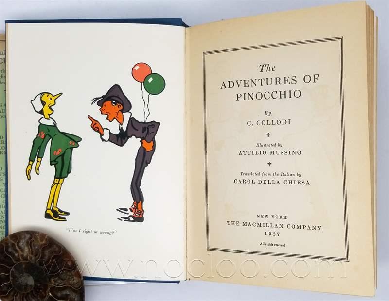 The Adventures of Pinocchio - C. Collodi 1927 | Rare First ...