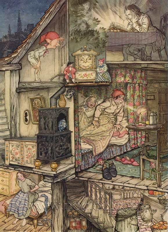 Arthur Rackham Fairy Tales By Hans Andersen [rackham Andersen02] (art, Illustrations)