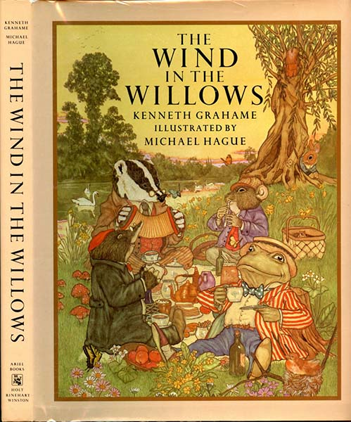 wind in the willows - michael hague