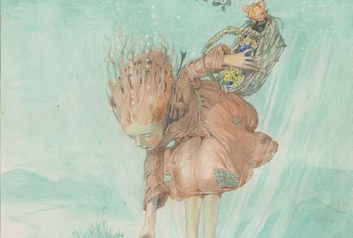 Honor Charlotte Appleton - Watercolour Water Babies