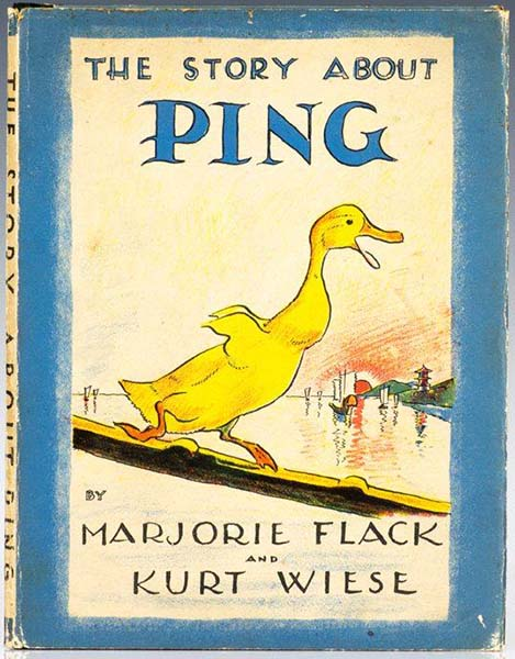 Story about Ping - Marjorie Flack 1933