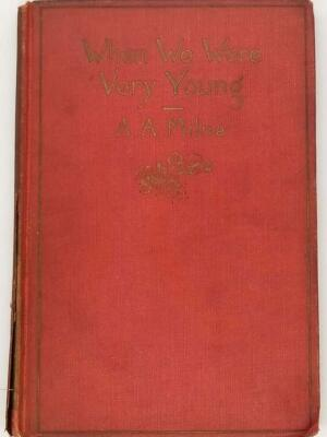 A.A. Milne - When We Were Very Young 1924. First edition [1]