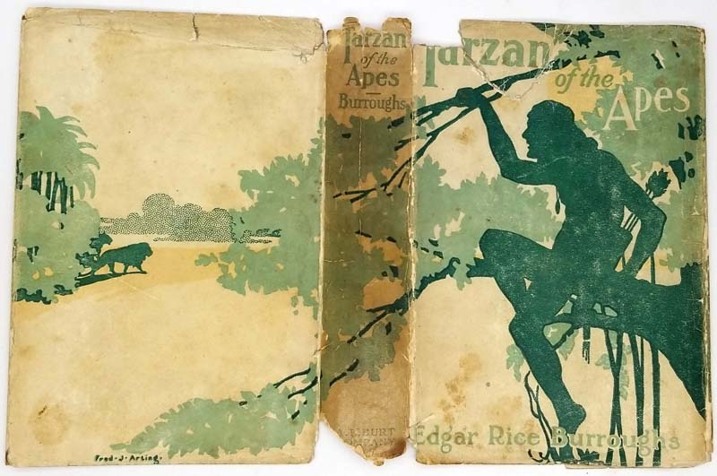 Tarzan of the Apes - Edgar Rice Burroughs 1914