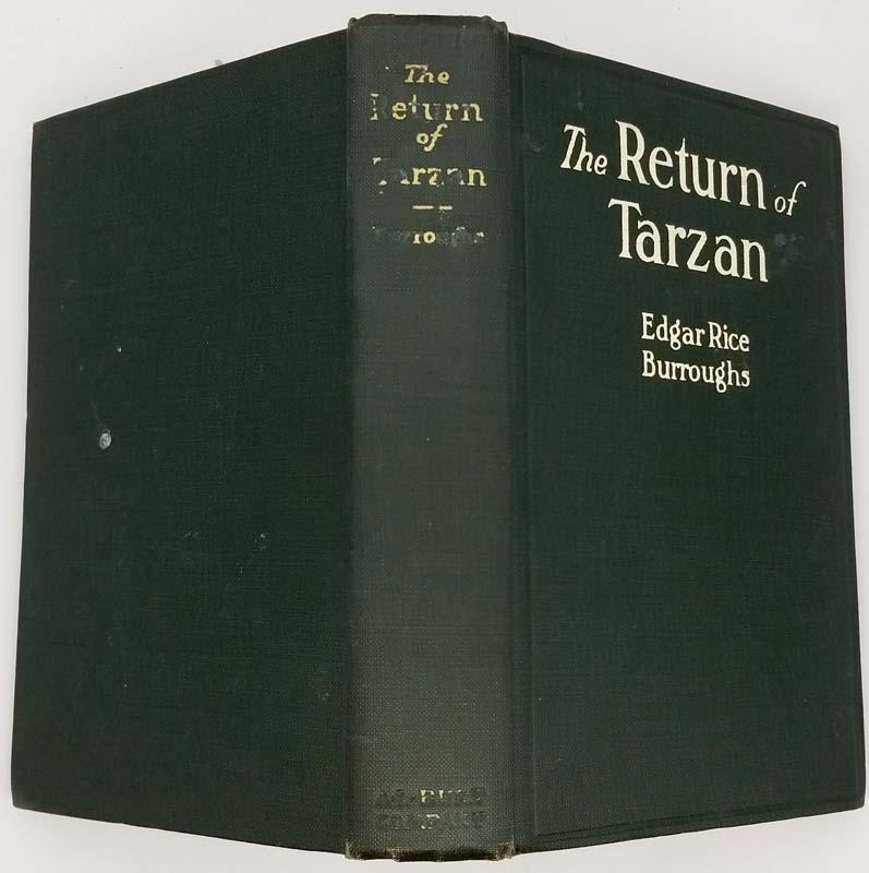 The Return of Tarzan - Edgar Rice Burroughs 1914