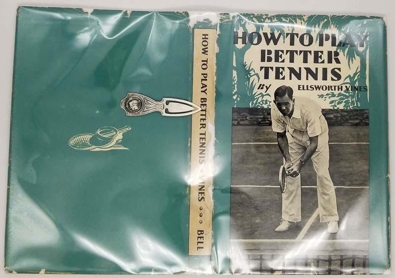 How To Play Better Tennis - Vines, Ellsworth 1938