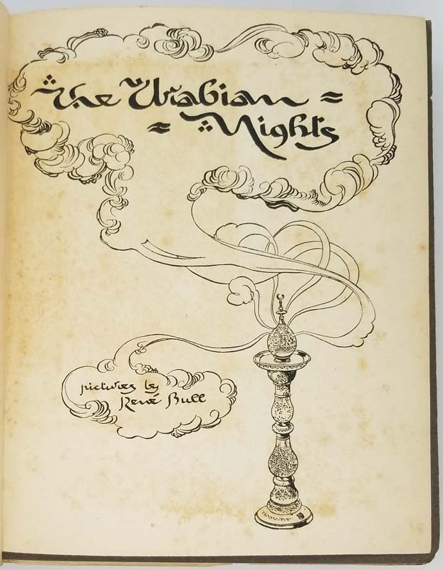 Arabian Nights - Rene Bull 1917