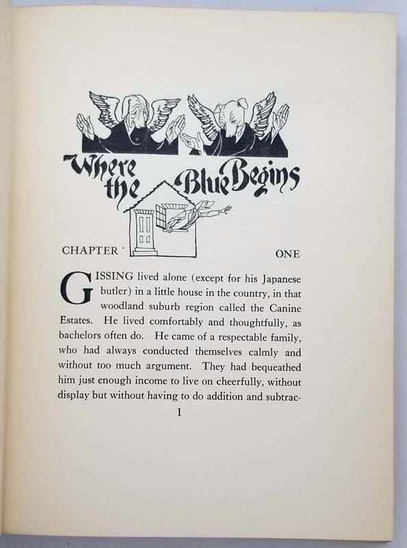 Where the Blue Begins - Arthur Rackham 1922