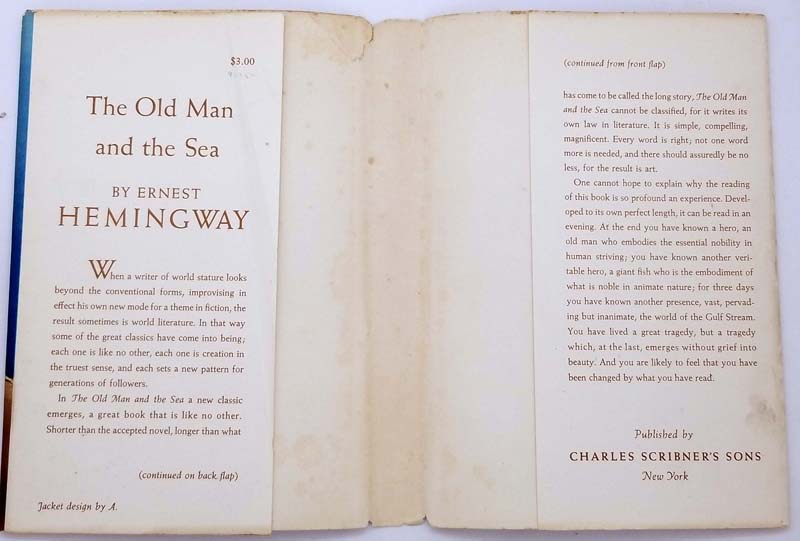 The Old Man and the Sea - Ernest Hemingway 1952