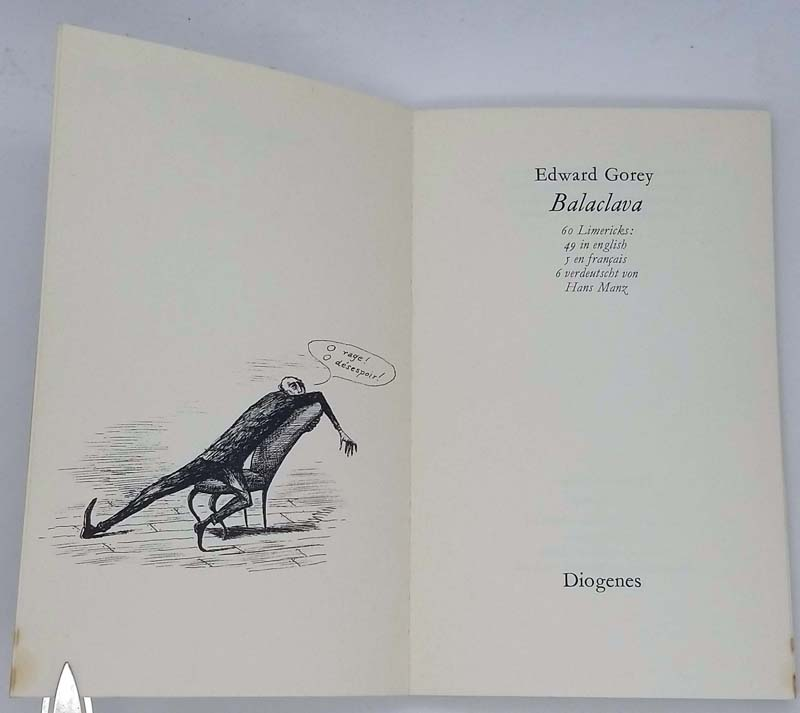 Balaclava - Edward Gorey 1972