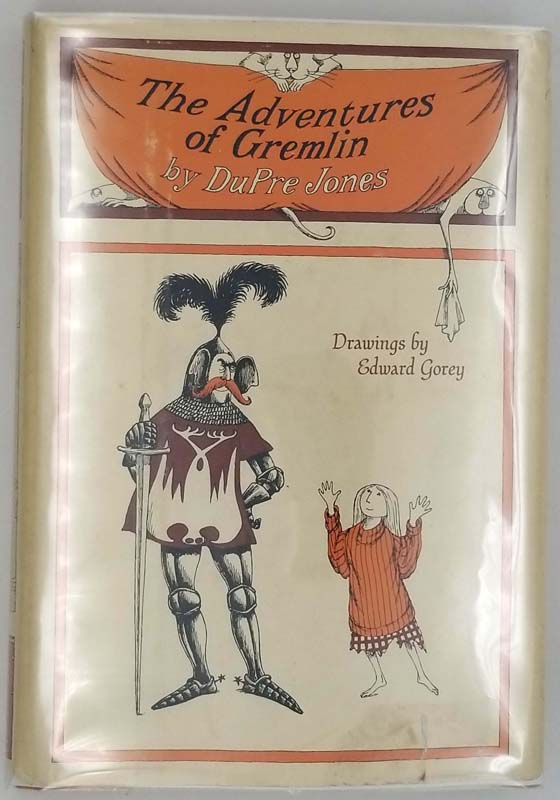 The Adventures of Gremlin. Drawings by Edward Gorey 1966.