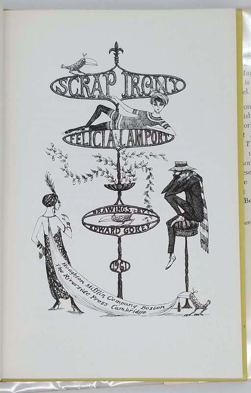 Scrap Irony - Edward Gorey 1961