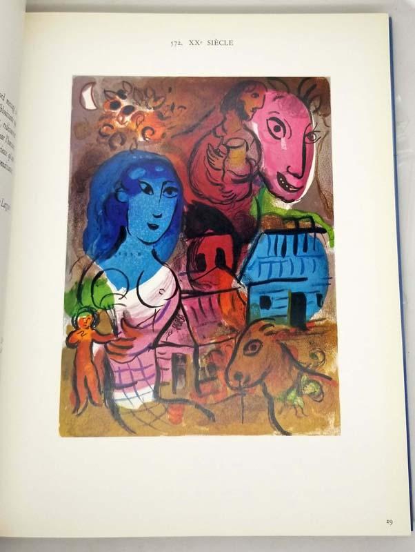 Chagall: Lithographs IV (1969-1973) - Charles Sorlier 1974