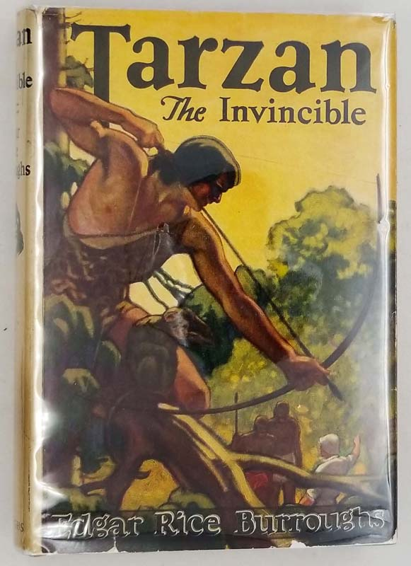 Tarzan the Invincible - Edgar Rice Burroughs 1931
