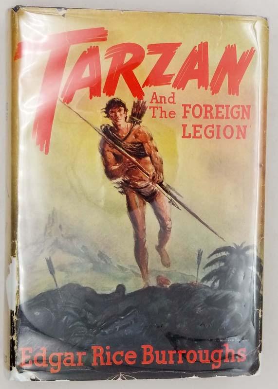 Tarzan and the Foreign Legion - Edgar Rice Burroughs 1947