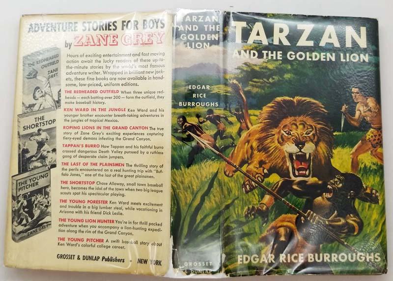 Tarzan and the Golden Lion – Edgar Rice Burroughs 1923