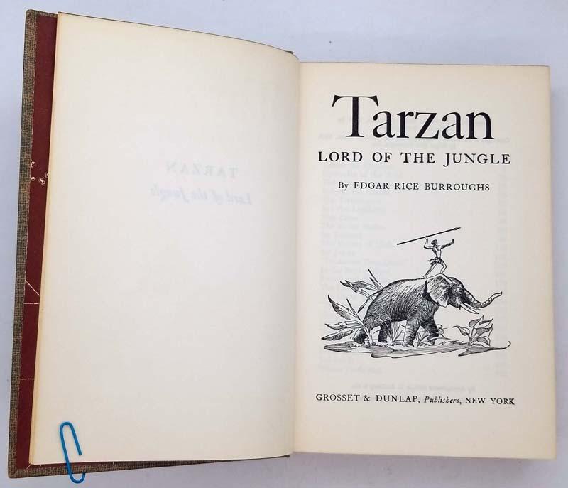 Tarzan Lord of the Jungle – Edgar Rice Burroughs 1928