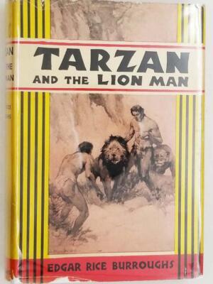 Tarzan and the Lion Man – Edgar Rice Burroughs 1934