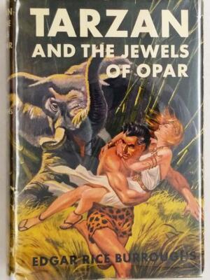 Tarzan and the Jewels of Opar – Edgar Rice Burroughs 1918