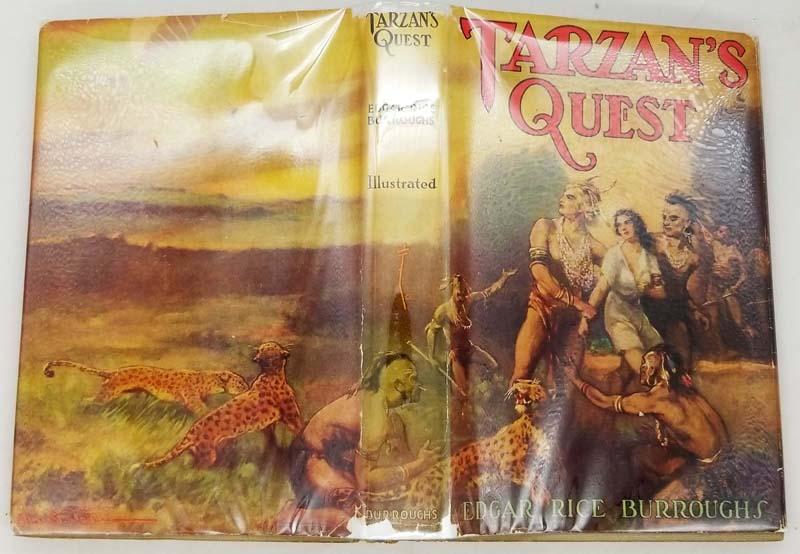 Tarzan's Quest – Edgar Rice Burroughs 1936