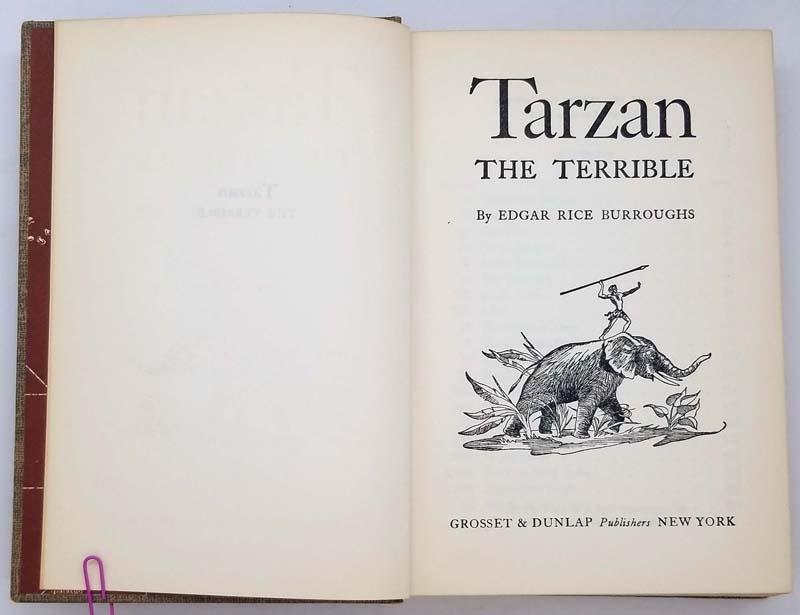 Tarzan the Terrible – Edgar Rice Burroughs 1921