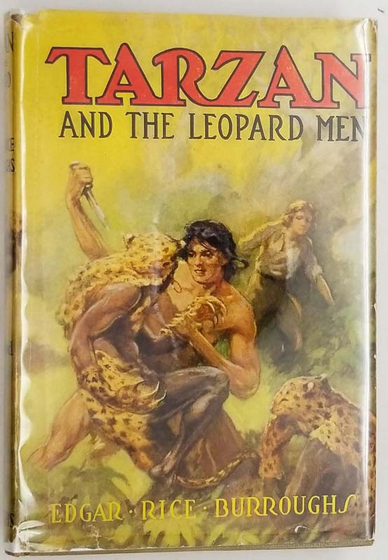 Tarzan and the Leopard Men – Edgar Rice Burroughs 1935
